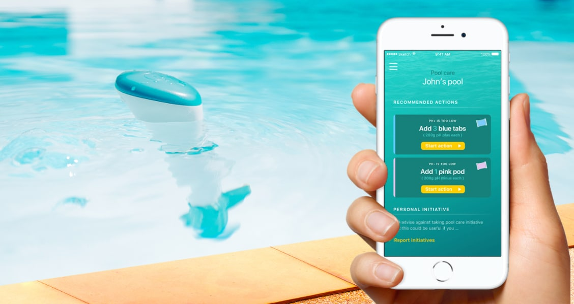 Banner iopool smart pool care solution