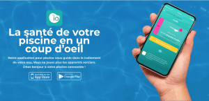 Application de maintenance de la piscine iopool
